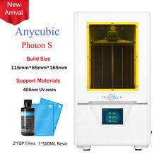 "ANYCUBIC SLA / LCD Photon S 3D Printer 2.8""TFT Matrix UV Light Resin Dual Z axis"