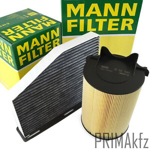 2x Mann Filter Set Inspection Kit Audi A3 Seat Skoda VW Golf V VI Passat Jetta