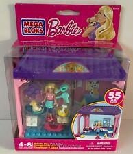Mega Bloks 80164 *** Barbie *** Build 'n Play *** Pet Salon *** NEW ***