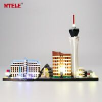 LED Light Up Kit For LEGO Architecture Las Vegas Lighting Las Vegas Set 21047