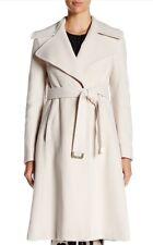 NWT Diane Von Furstenberg DVF Maryann Wool Cashmere Coat Size 12 NEW