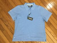 NWT Ping Women's Baby Blue Golf Polo Shirt Top Blouse Size XL MSRP $36 New