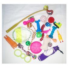 20 teiliges Spielzeug-Set - Hundespielzeug -Set - mit Ballschleuder 63 cm