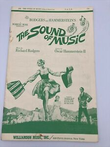 THE SOUND OF MUSIC Choral Selection sheet music Song Book Rodgers & Hammerstein