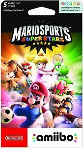 Nintendo Mario Sports Superstars amiibo cards 5-Pack - Nintendo 3DS