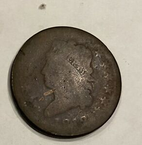 1812 Classic Head Large Cent
