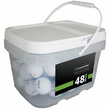 48 Titleist Pro V1x 2018 Mint Quality Used Golf Balls AAAAA *In a Free Bucket!*