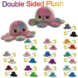 Kids Soft Gifts Children Cute Plush Toys Double-Sided Flip Doll Soft Reversible