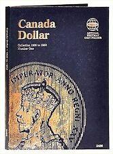 Whitman Coin Folder 2486 CANADA Dollar 1935-1952 Volume 1