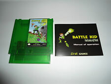 BATTLE KID FORTRESS OF PERIL NES new complete manual Nintendo global shipping