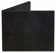 Dynomighty SOLID BLACK LEATHER PRINT made of tyvek bifold MIGHTY WALLET DY-600