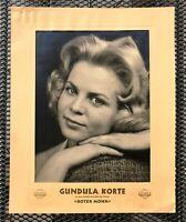 Kino # Original Aushangfoto # Roter Mohn # Gundula Korte # Gloria # 1956