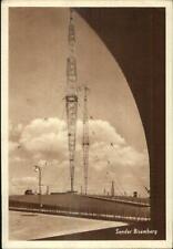 Austria Wireless Radio Tower Sender Bisamberg Used Stamps Cancels Postcard