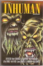 ALLEN K'S INHUMAN #1. Jeffrey Thomas,  John carpenter, Robert Silverberg.