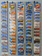 Diecast wall display NEW - Hot Wheels, Matchbox, Jada, Clamshell & Blister packs