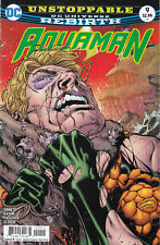 Aquaman #9 Rebirth Comic 1st Print 2016 New NM ships in T-Folder