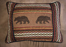 HiEnd Accents Oblong Bear Pillow 16X21