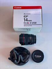 Canon EF 14mm 14 f/2.8 f/2.8L f2.8L f2.8 L USM Mark II 2 -Professional Workhorse