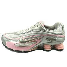 Nike Shox M1 Running Shoes Womens Size 10 Athletic Training Sneakers Pink Gray