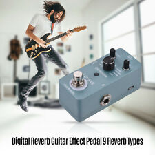 Digital Reverb Guitar Effect Pedal 9 Reverb Types True Bypass Full Metal Q3W3