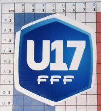 Patch France U17 17/18 maillot de foot Paris.SG, OM, Lens, Lyon, St Etienne ...