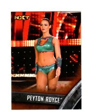 WWE Peyton Royce #16 2016 Topps NXT Bronze Parallel Card SN 30 of 50
