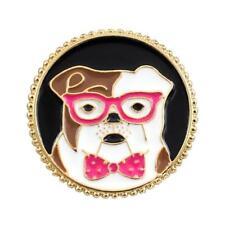 CG4038 Esmalte Pin de Solapa - Bulldog Inglés con Gafas