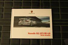 RAR VIP Prospekt/brochure Hardcover Porsche 911 GT3 RS 4.0 04/11 französisch