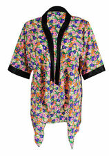 Floral Zip Up Jacket Size 22 fits Up To 24 Bnwt Monsoon Dark Blue