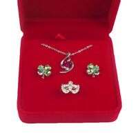 HN- Fashion Velvet Shell Wedding Earring Ring Necklace Jewelry Display Box Gift