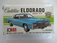 Jo-Han 1976 Cadillac Eldorado Snap Kit CS-501 1:25 Open Box