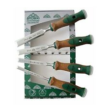 Stubai Swedish Pattern Bench Chisel Set Pack of 4 JT357104 13/16/20/24mm