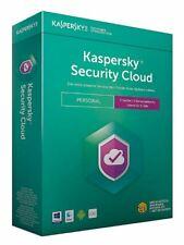 ⭐️ Kaspersky Security Cloud Laufzeit 1 Jahr / 3, 5 oder 20 Geräte / ESD Lizenz ⭐