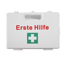 Verbandkasten Erste Hilfe Koffer DIN 13157 Verbandkasten + Halter weiß 620161