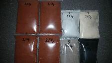 10 kg ölformsand, TALC, formpuder, Graphite, Giessand, or, étain, plomb, alu, sables