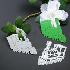 Train Cutting Dies Stencil for DIY Scrapbooking Embossing Album Paper Card Craft