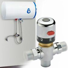 Brass Thermostatic Mixing Valve Solar Water Heater Valve For Bidet Shower Faucet