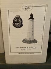 Lefton Lighted Lighthouse New London Harbor Ct,Historic American Lighthouses New