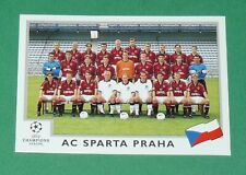 N°239 CESKA SPARTA PRAHA PRAGUE PANINI FOOTBALL CHAMPIONS LEAGUE 1999-2000