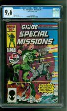 G.I. Joe Special Missions 1 CGC 9.6 NM+ Shipwreck Torpedo Cobra Mike Zeck cover