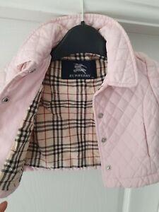 Baby girl designer Burberry coat