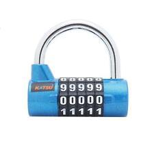 KATSU  Digital Pad Lock Professional 5 Digits Blue