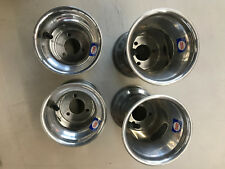 """GO Kart Rims Alloy Wheels Made by Duglass Co Set of 4 / 5""""x5"""" & 5""""x7.75"""" / New"""