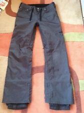 BURTON denim Jeans snowboard or ski insulated PANTS. men's gore-Tex large