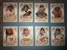 2021 TOPPS ALLEN & GINTER BASE 1-175 BASEBALL CARDS YOU CHOOSE MLB CARD FS
