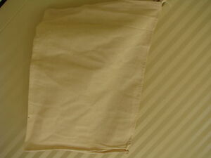 """Calico Bags    Lot of 20   18"""" x 12""""  Drawstring White Craft Sample Markets"""