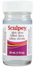 SCULPEY GLOSSY GLOSS GLAZE VARNISH - for fimo & sculpey polymer clay 30ml