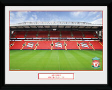 Liverpool Anfield Football Soccer Framed Poster Print Photo 40x30cm | 12x16 in