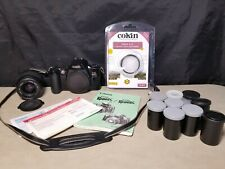 Canon Eos Rebel X S Xs Film Camera w/ Lens, Strap, Uv Filter, etc.