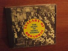 Lullaby oF Broadway : The Music Of Harry Warren : CD Album : 1992 : PAST CD9795